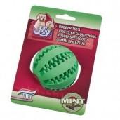 Hračka guma Míč na čištění zubů s mátou Jolly 7 cm