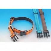 Obojek nylon Soft Grip - oranžový Nobby 1,50 x 25 - 35 cm