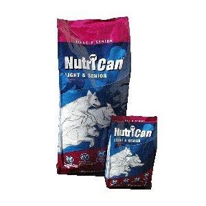 Krmivo NUTRI CAN Light a Senior 15kg