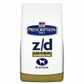 Hill's Canine Z/D Dry Ultra Allergen Free 3kg - zlatý