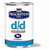 Hill's Canine D/D konzerva Salmon+Rice 370g