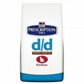 Hill's Feline D/D Dry Venison+Green Pea 2kg