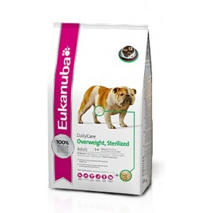 Krmivo Eukanuba Dog DC Overweight Sterilized 12,5kg