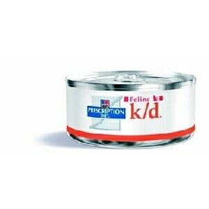 Hill's Feline K/D konzerva - jemně mletá 156g