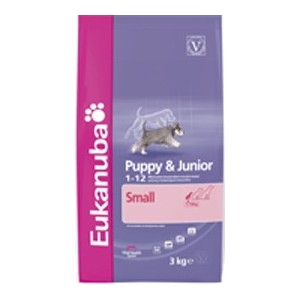 Krmivo Eukanuba Puppy & Junior Small Breed 100g
