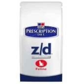 Hill's Feline Z/D Dry Low Allergen 2kg
