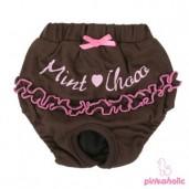 Hárací kalhotky Mint Choco Pinkaholic hnědé