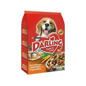 Krmivo Darling dog dry - drůbež 500g