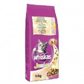 Whiskas dry Junior - kuřecí 14kg