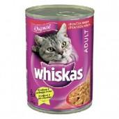Whiskas konz. hovězí 0,4kg