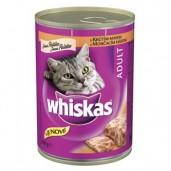 Whiskas konz. krůtí 0,4kg