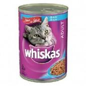 Whiskas konz. ryba 0,4kg