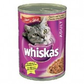 Whiskas konz. telecí+krůtí 0,4kg