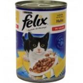 Felix konzerva hovězí + kuře 400g