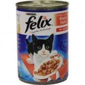 Felix konzerva hovězí + krůta 400g