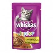 Whiskas kaps. Junior - drůbeží 0,1kg
