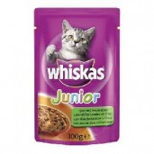 Whiskas kaps. Junior - jehněčí 0,1kg