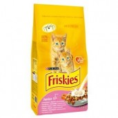 Friskies cat dry Junior-kuřecí 1,5kg