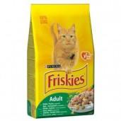 Friskies cat dry - králík,drůbež 10kg