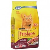 Friskies cat dry-maso,játra 0,3kg
