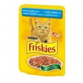 Friskies kaps.-losos, tuňák 0,1kg