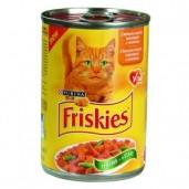 Friskie cat konz. Junior-kuřecí, krůtí 0,4kg