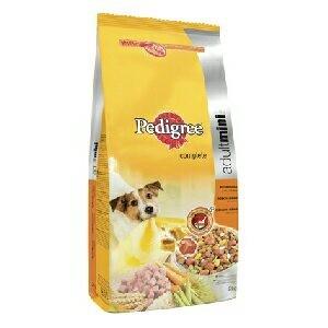 Krmivo Pedigree Dry Adult Mini s drůb., rýží a zeleninou 400g