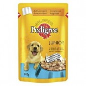 Pedigree kaps. Junior-kuřecí 0,1kg