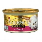 Gourmet konz.- hovězí, kuře 85g