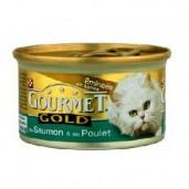 Gourmet konz.- losos, kuře 85g