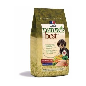 Krmivo Hill's Nature's Best Canine Mature Adult Mini / Medium 12kg